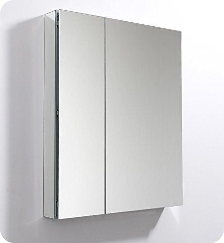 Fresca 30 inch Wide x 36 inch Tall Bathroom Medicine Cabinet -
