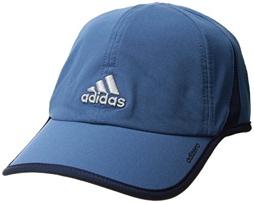 adidas Mens Adizero II Cap, Core Blue/Collegiate Navy/Clear Grey, One Size