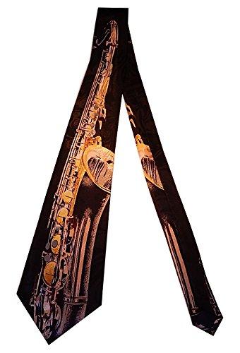Steven Harris Men's Tenor Saxophone Neck Tie