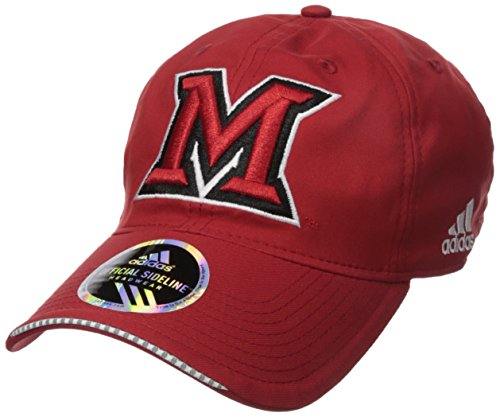 Miami Ohio Redhawks Baseball (NCAA Miami (Ohio) Redhawks Adult Men Coach's Adjustable Slouch Hat, One Size, Red)