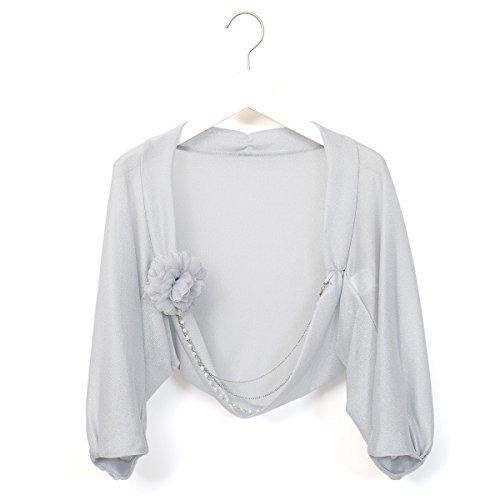 (ファッションレター)FashionLetter 結婚式 お呼ばれ 大きいサイズ ボレロ 二次会 お呼ばれ パーティー パーティ フォーマル ジャケット n449