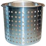 Winware Professional Aluminum Steamer Basket Fits 20-Quart Stock Pot
