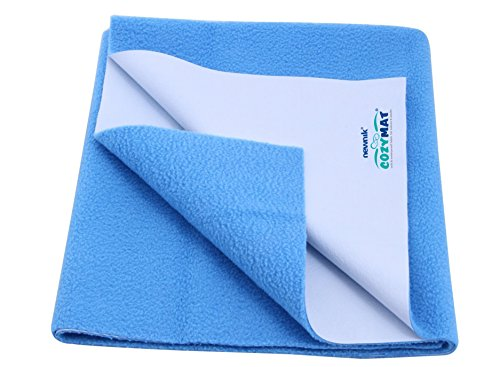 Purchase Cozymat Soft, Waterproof, Reusable Mat / Underpad / Absorbent Sheets / Mattress Protector (...