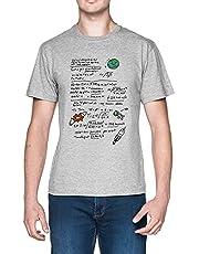 Kerbal Orbit Science Velocity Grå Herr T-shirt Grey Men's Tee