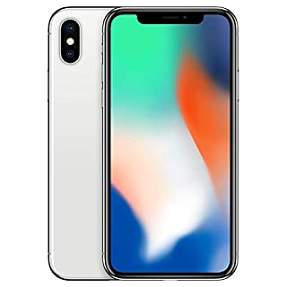 Simple Mobile Prepaid - Apple iPhone X (64GB) - Silver [Locked to Carrier – Simple Mobile]