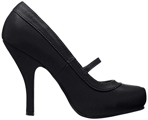Para Cutiepie black Negro Zapatos 02 Pleaser Plataforma Con Mujer AqwAX