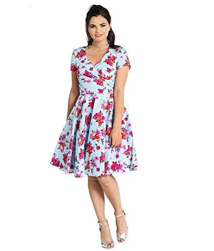 Style Vintage Hell Mi Floral Robe Alyssa Motif Bunny EqwUxw6pR