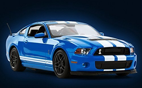 Radio Remote Control 1/14 Ford Mustang Shelby GT500 RC Model Car - Mustang Blue
