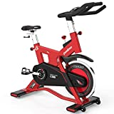 L NOW Pro Indoor Cycling Bike Stationary Smooth Belt Driven -40lb flywheel Commercial Standard