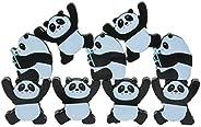 Wooden Stacking Balancing Games, Wooden 3D Panda Stacking Blocks Balancing Game Montessori Early Cognition Dev