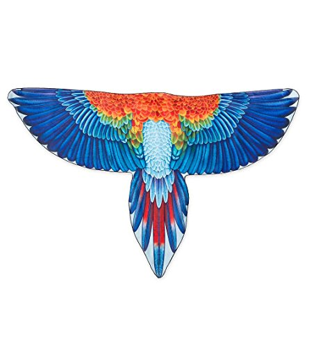 Brainy Bird Wings, Dress Up and Pretend Play Costume for Kids - 52'' Wingspan - Scarlet Macaw]()