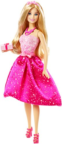 Barbie Happy Birthday Doll (Barbie Headband)