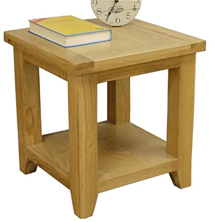 Chelsea oak lamp table with shelf small table fully assembled chelsea oak lamp table with shelf small table fully assembled aloadofball Images