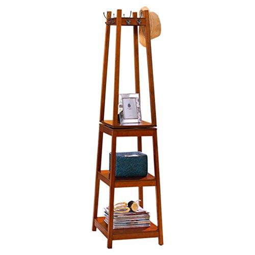 Garderobenständer Stabil amazon com aidelai coat rack solid wood floor coat rack rotatable