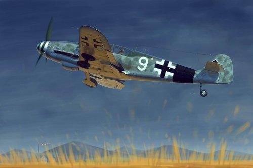 - Trumpeter Messerschmitt Bf109-10 German Fighter Model Kit (1/32 Scale)