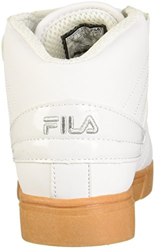 Men's Silver Vulc Gum White Fila 13 F46cw8