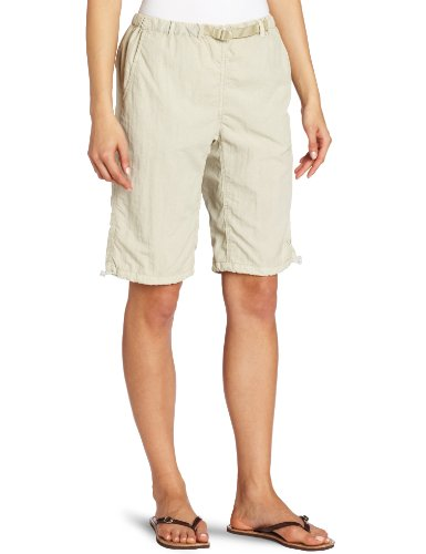 White Sierra Women's Hanalei Bermuda Shorts - Extended Size, Stone, 2X by White Sierra