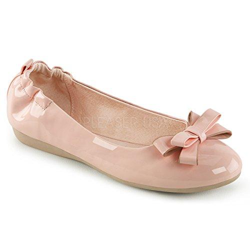 Pin Opp Couture Kvinners Oliven-03 Ballet Flate B. Rosa Klapp
