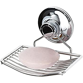 PATENTED Suction Soap Dish Holder For Shower, Bathroom, Tub And Kitchen  Sink | Best
