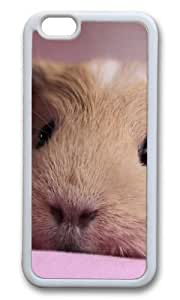 MOKSHOP Adorable Guinea pig 2 Soft Case Protective Shell Cell Phone Cover For Apple Iphone 6 Plus (5.5 Inch) - TPU White