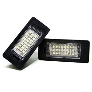 Docooler Led License Plate Light Lamp for BMW 1 3 5 Series x1 x3 x5 x6 M3