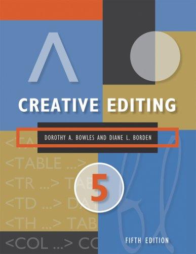 Creative Editing
