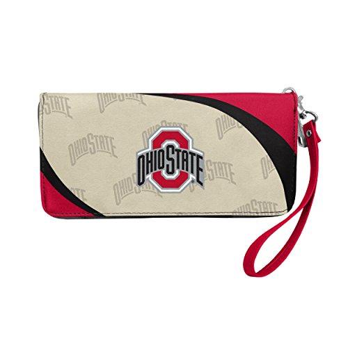 NCAA Ohio State Buckeyes Curve Zip Organizer Wallet