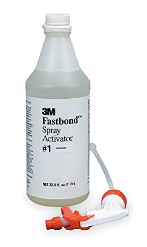 - 3M(TM) Fastbond(TM) Spray Activator 1, 1 Liter Spray Bottle, 6 per case