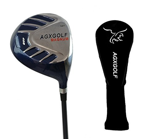 AGXGOLF Ladies Magnum 460cc Driver wLady Flex Graphite Shaft: Choose Loft: Petite, Regular or Tall + Head Cover Made in USA!