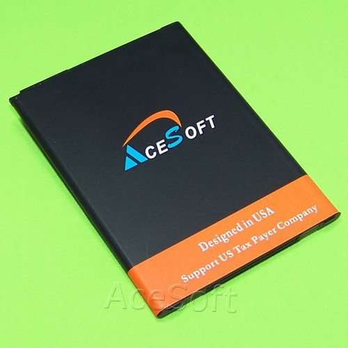 3300mAh Rechargeable Li_ion Spare Battery for LG Stylo 3 LTE L83BL Straight Talk/Tracfone/Net10 Android Phone - AceSoft by AceSoft