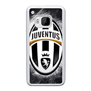 HTC One M9 Custom Cell Phone Case Juventus FC Logo Case Cover WWRF68336