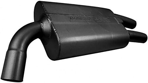 Flowmaster 425501R 50 Series 16-Gauge Right Side Aluminized Steel Muffler for Chevy Corvette 425501-R