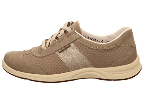 Femmes Laser Mephisto à L857SI8 Gris Chaussures Lacets 87Bwgx
