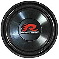 Renegade RXW1000 10-Inch SVC 4 Ohm Subwoofer