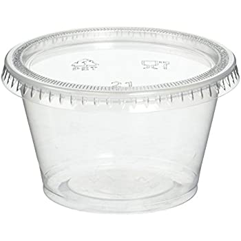 Amazoncom Reditainer Plastic Disposable Portion Cups Souffle Cup
