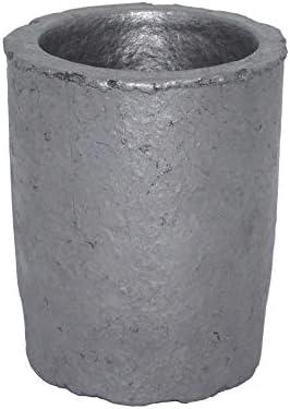 Dumadf Gießerei-Siliciumcarbid-Graphit-Tiegel-Schale, die Goldsilber-Kupfer-Messing-Aluminium für 1.6KG Kupfer oder 0.6KG Aluminium verfeinert