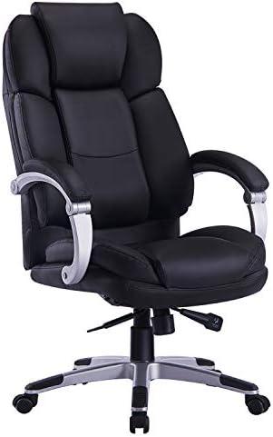 OFFICEFURNITURE ONLINE Executive Adjustable BLACK