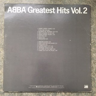Abba, Greatest Hits Vol. 2 - Vinyl Record by Atlantic Recording