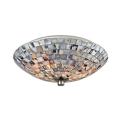 Elk Lighting 10401/2 Close-to-Ceiling fixtures, Gray