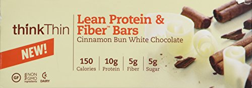 Think Thin 20 Pack (2 X Box of 10)- (Cinnamon Bun White Chocolate)