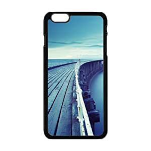 blue seaside long bridge personalized high quality cell phone case for Iphone 5c