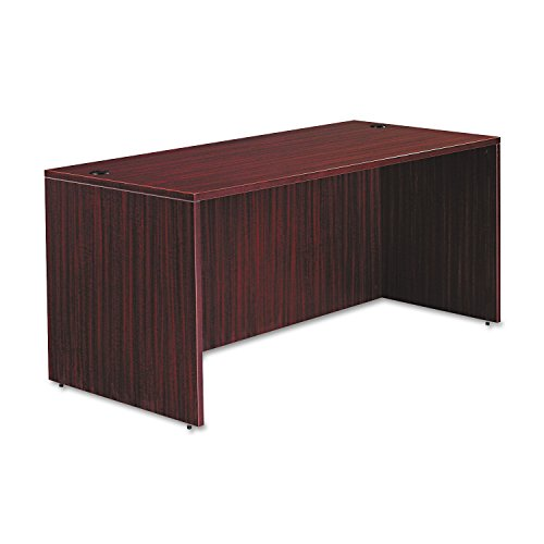 Alera VA216630MY Valencia Series 66 by 30 by 29-1/2-Inch Desk Shell, Mahogany - Valencia Series Desk Shell