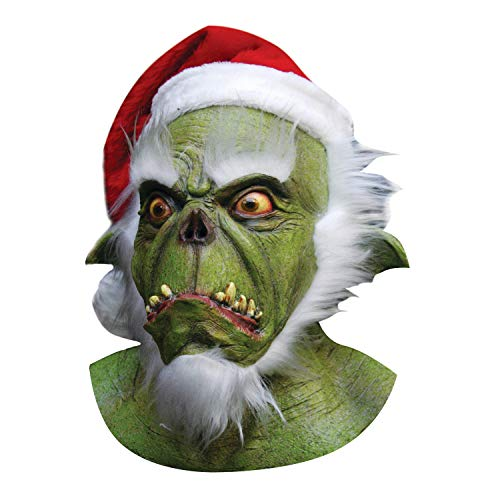 (Green Santa Grinch Mask)