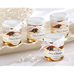 """""""Meant to Bee"""" Personalized Clover Honey With Personalized Honey Labels - Set of 24"""