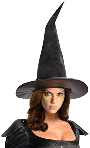 [Rubie's Costume Disney's Oz The Great and Powerful Wicked Witch Of The West Hat, Black, One Size] (Iconic Womens Halloween Costumes)