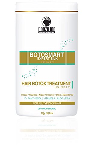 Botosmart Expert Silk Hair Treatment with Collagen with Vitamin A,Aloe Vera by Brazilianhairproducts