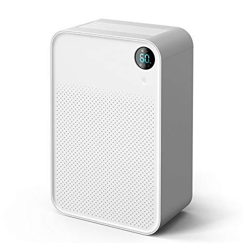 - JUZEN Small Dehumidifier Moisture Absorber Household Dehumidifier High Power Dormitory Student Dryer Mute Bedroom Desktop Dryer White