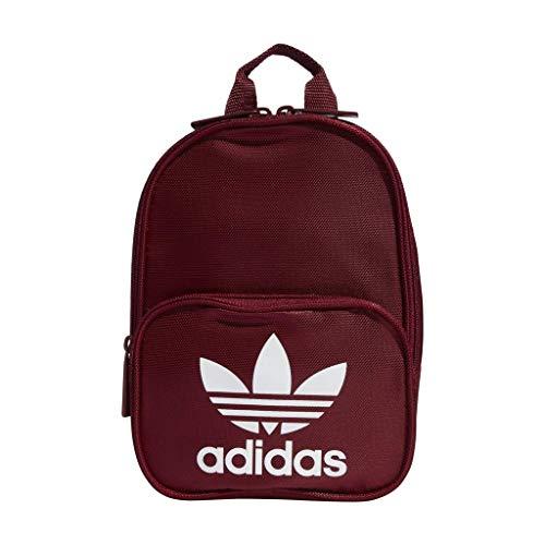 adidas Originals Santiago Mini Backpack, Collegiate Burgundy, One Size