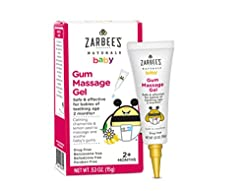 Zarbee's Naturals Baby Gum Massage Gel, ...