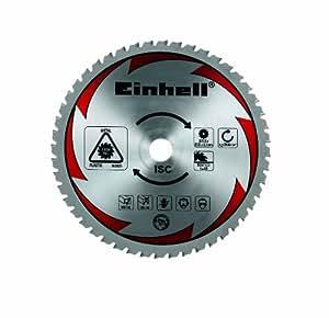 Einhell - Disco para sierra (para RT-SM 305, 250 x 30 mm, 48 dientes, corte de madera y metal) color gris